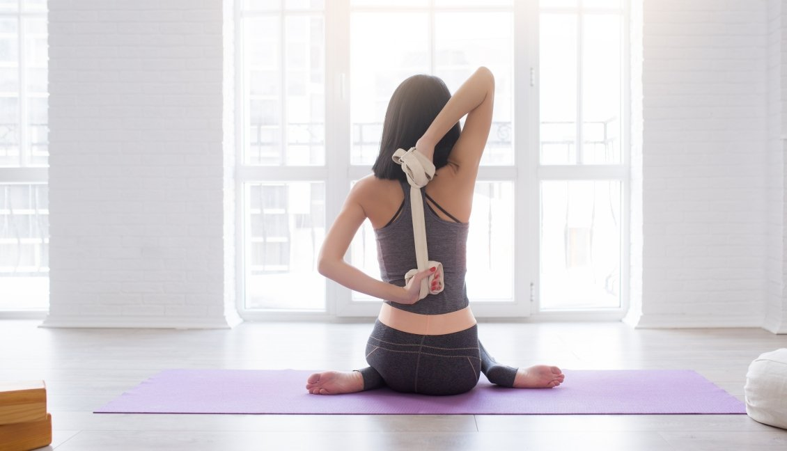 Iyengar yoga strap