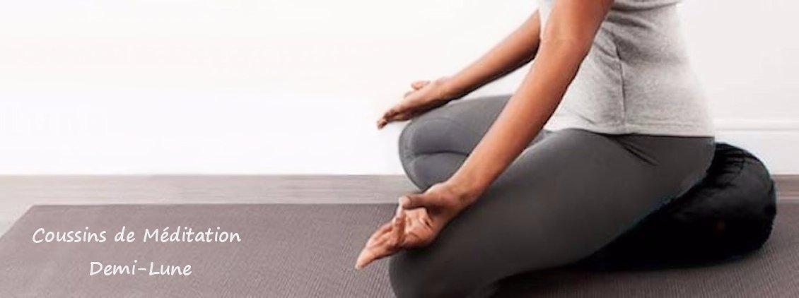 Coussins de Méditation Demi-Lune