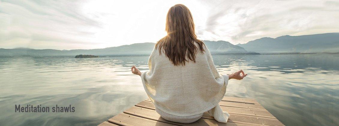 Meditation shawls