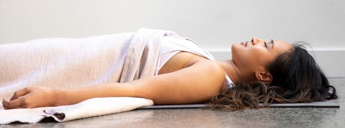 Yoga Decke