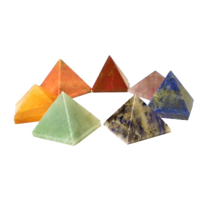 Edelstein-Pyramide