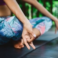 Meditationsmatte