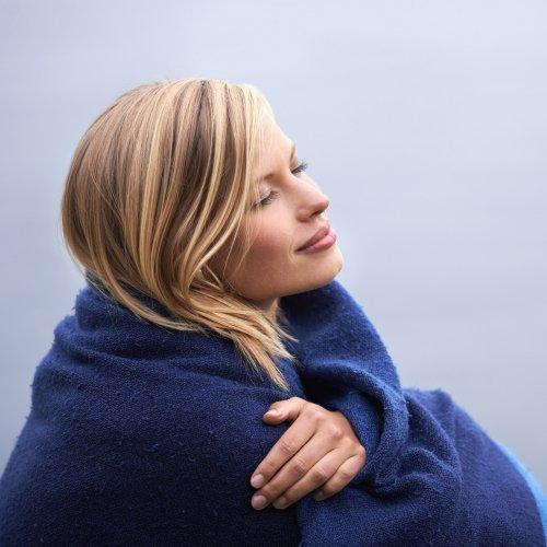 Meditatie omslagdoek
