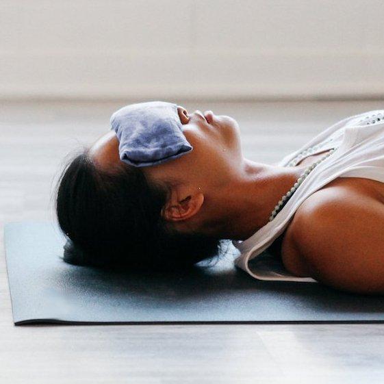 Meditations Augenkissen