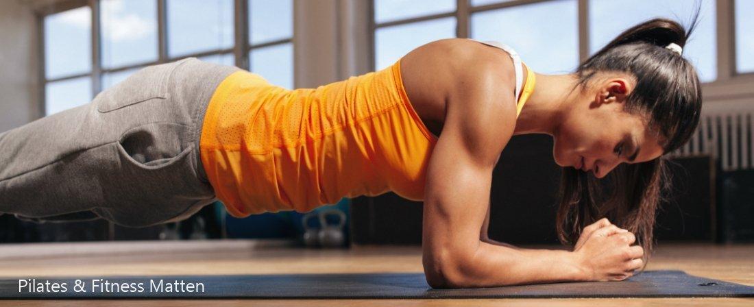 Pilates & Fitness Matten