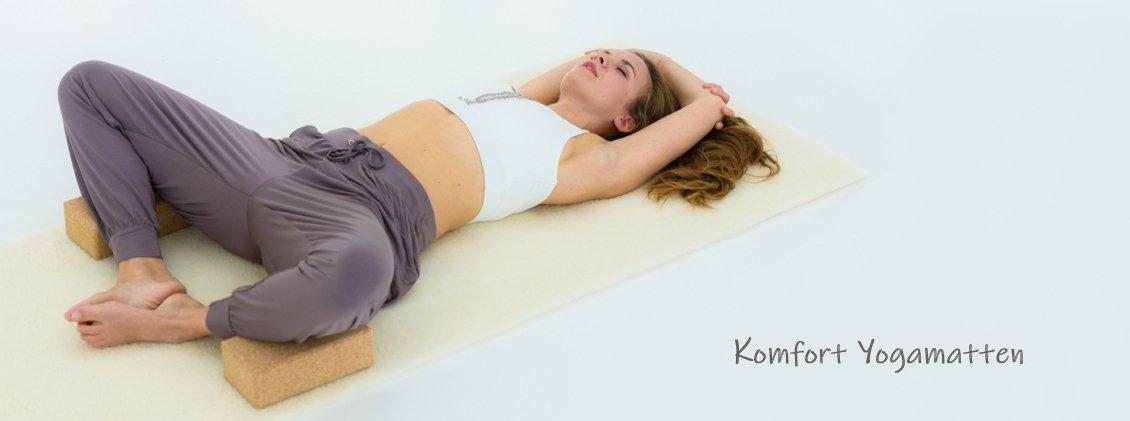 Schafwolle Yogamatten