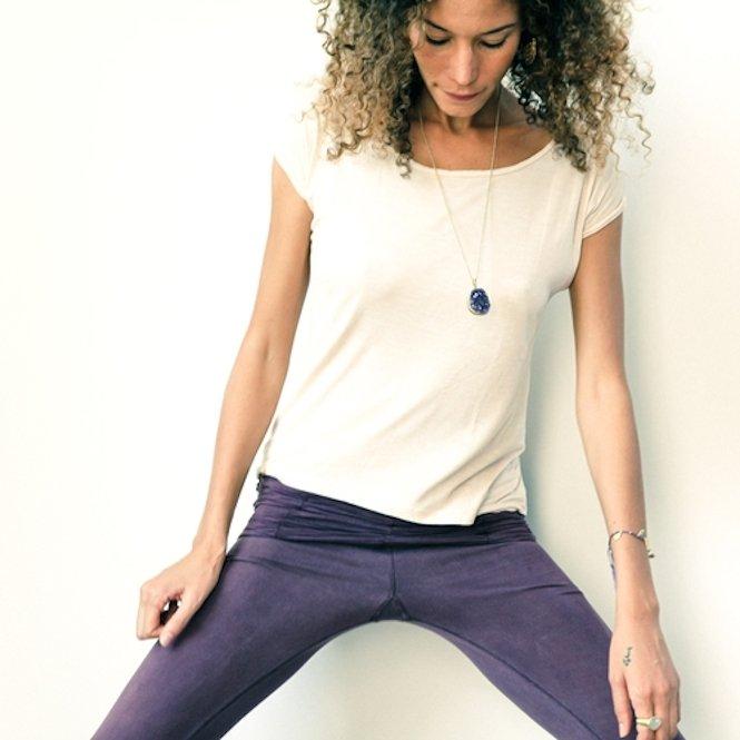 T-Shirt de Yoga femme