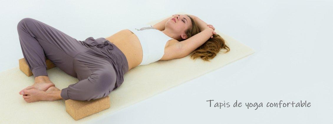 Tapis de Yoga laine
