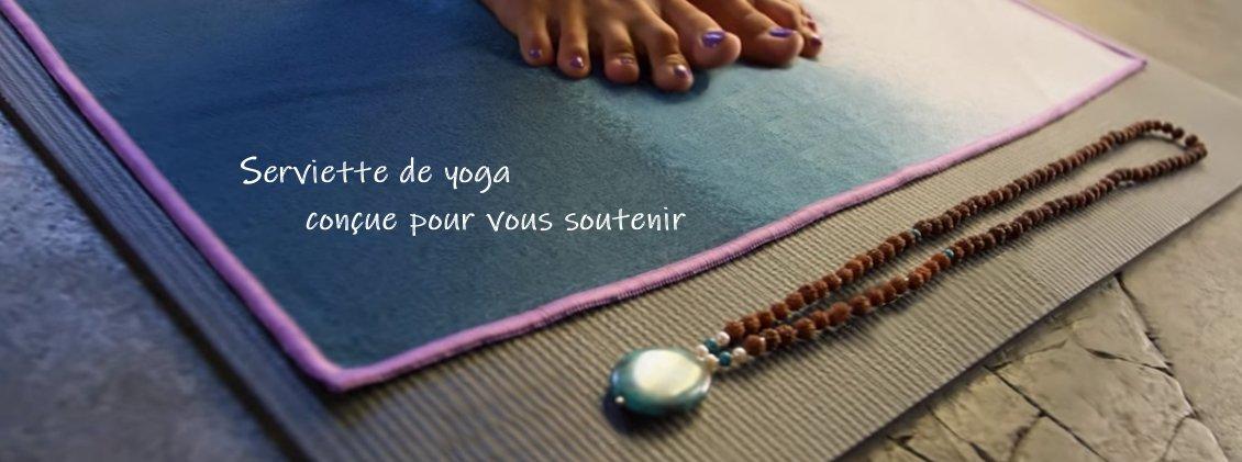 Tapis Serviette de Yoga