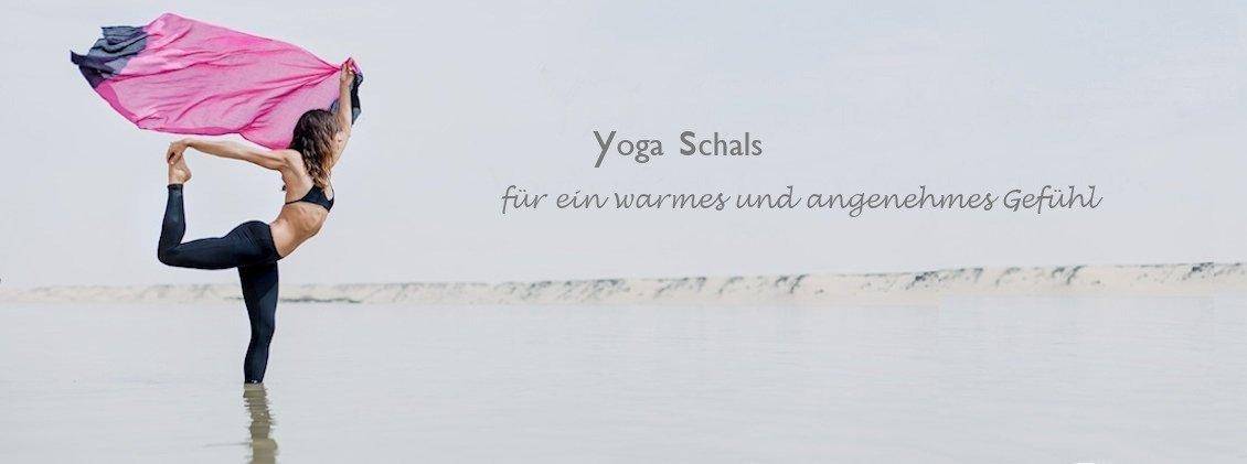 Yoga Schals und Umschlagtücher