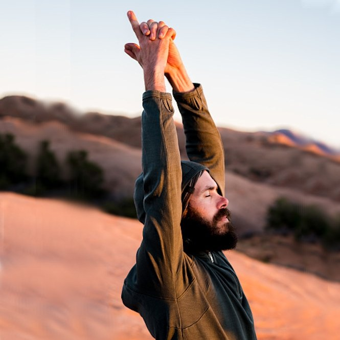 T-Shirt Manches Longues Yoga homme