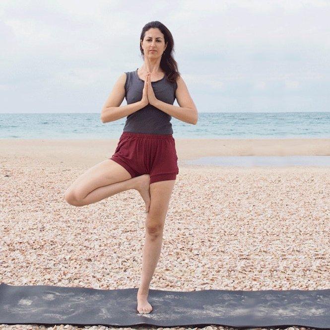 Yoga Hosen kurz Damen
