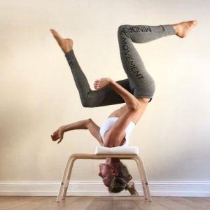 Yoga Head Stand Stool