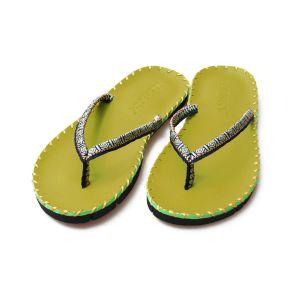Yoga Slippers - Sandalen groen