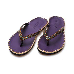 Yoga Slippers - Sandalen paars