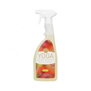Tapis de yoga nettoyant orange sanguine bio