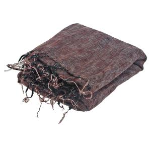 Meditatie - Yoga deken groot kleur bordeaux