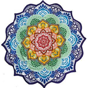 Yoga Roundie Zeven Chakra's Mandala