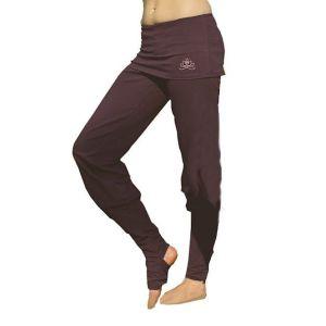 Yoga broek Asana aubergine