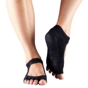 ToeSox Socks Bella black toeless