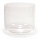 Kristallen klankschaal helder E-toon 20 cm