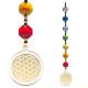 Feng Shui Blume des Lebens goldfarben