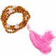 Mala Rudraksha en rozenkwarts 108 kralen
